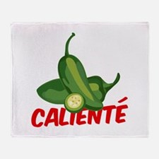 Caliente Jalapeno Throw Blanket