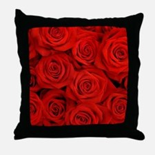 Cute Rose Throw Pillow
