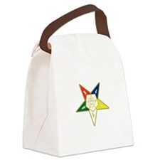 Cute Order of eastern star Canvas Lunch Bag