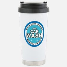 A1 Car Wash Stainless Steel Travel Mug