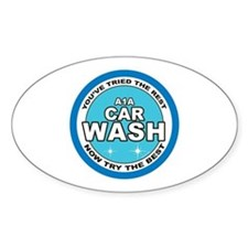 A1 Car Wash Decal