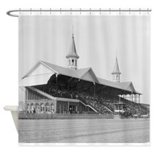Cute Horse racing Shower Curtain