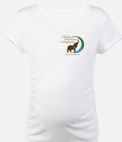 Shirt With Logo In White