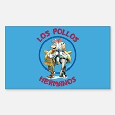 Los Pollos Hermanos Sticker (Rectangle)