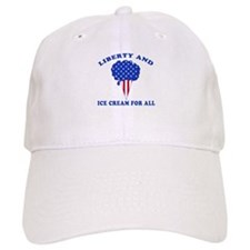 Liberty & Ice Cream Baseball Cap