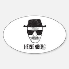 Heisenberg Sticker (Oval)