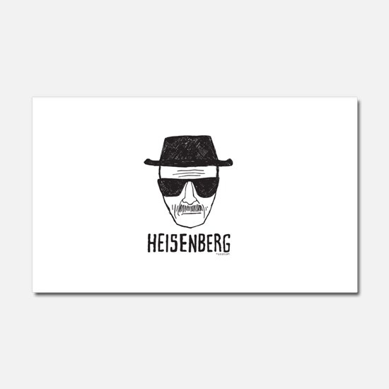 Heisenberg Car Magnet 20 x 12