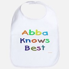 Jewish Abba Knows Best Bib