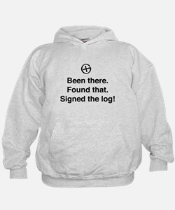 Been there found that log Hoodie