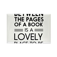 Between pages of book Magnets