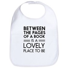Between pages of book Bib