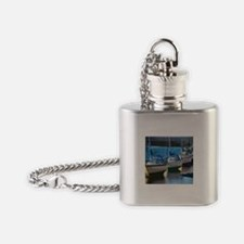 Cute Sailboats Flask Necklace