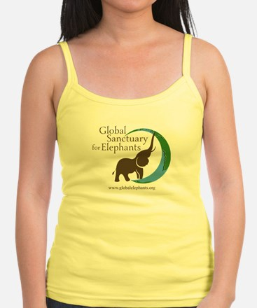 Junior Tank Top With Logo-Light Colors