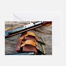 Sniper Rifle Greeting Card