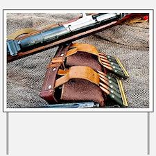 Sniper Rifle Yard Sign