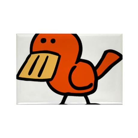 Birdie Rectangle Magnet