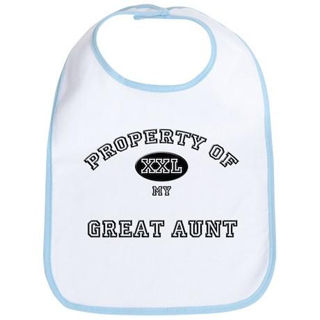 Property of my GREAT AUNT Bib