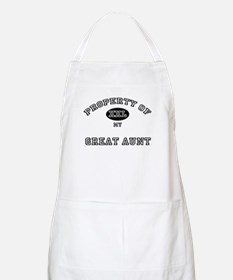 Property of my GREAT AUNT BBQ Apron
