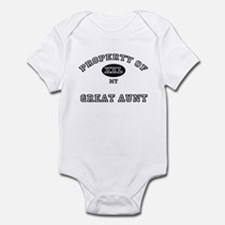 Property of my GREAT AUNT Infant Bodysuit