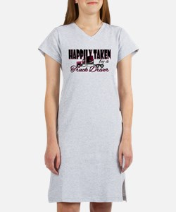 Happily Taken - Truck Driver Women's Nightshirt