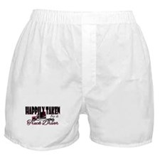 Happily Taken - Truck Driver Boxer Shorts