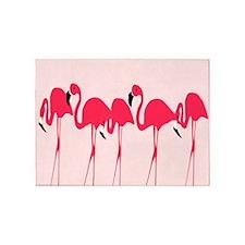 Flamingos 5'x7'Area Rug