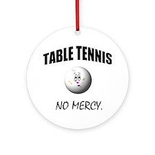 Cute Fun tennis Ornament (Round)