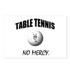 Cute Table tennis Postcards (Package of 8)