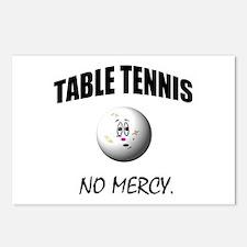 Cute Table tennis Postcards (Package of 8)