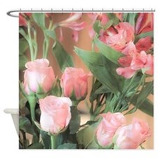Cute Pink roses Shower Curtain