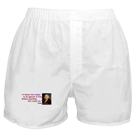 Ignorant & Free Boxer Shorts