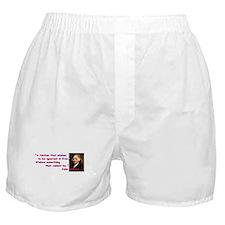 Ignorant & Free Boxer Shorts