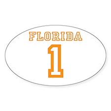 FLORIDA #1 Decal