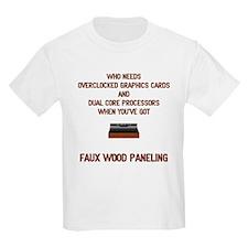 Faux Wood Power T-Shirt