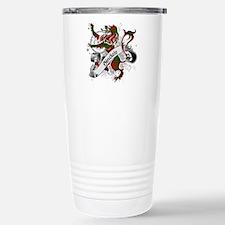 Sinclair Tartan Lion Stainless Steel Travel Mug