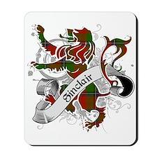 Sinclair Tartan Lion Mousepad