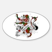 Sinclair Tartan Lion Decal