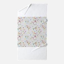 Colored Sprinkles Beach Towel