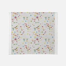 Colored Sprinkles Throw Blanket