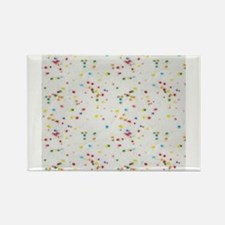 Colored Sprinkles Rectangle Magnet