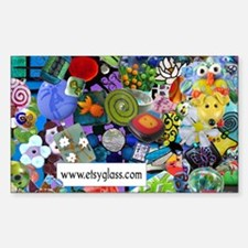 Etsy Glass Artists Rectangle Decal