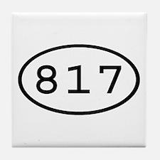 817 Oval Tile Coaster