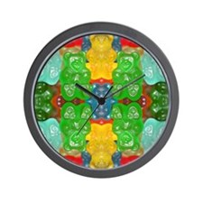 cute candy colorful modern trendy Wall Clock
