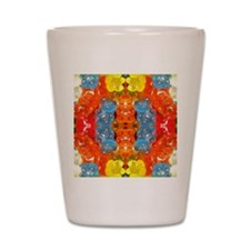 cute candy colorful modern trendy Shot Glass