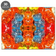 cute candy colorful modern trendy Puzzle