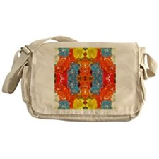 cute candy colorful modern trendy Messenger Bag