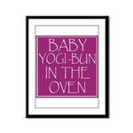 Yogi-Bun in Oven Framed Panel Print
