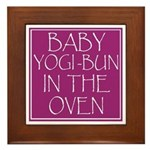 Yogi-Bun in Oven Framed Tile