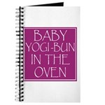 Yogi-Bun in Oven Journal