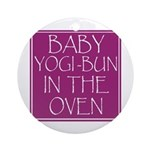 Yogi-Bun in Oven Ornament (Round)